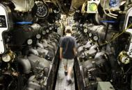 Wizyta w maszynowni - silniki elektryczne na chodzie