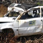 Zniszczone samochody do skupu
